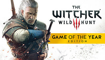 The Witcher 3 Wild Hunt Game of the Year  GOTY Steam Game (PC) - EUROPE only -