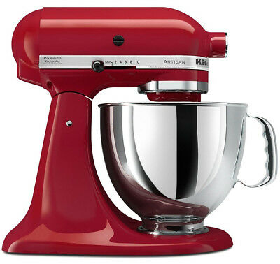 KitchenAid KSM150 Artisan Stand Mixer - Empire Red - Brand New