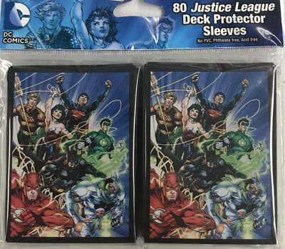 Justice League Deck Sleeves, NEW & SEALED!!