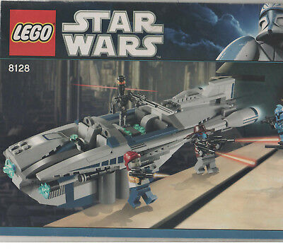 Lego 8128 Cad McBaine's Speedster Star Wars Clone Instructions Only