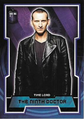Doctor Who 2015 -  TARDIS Short Print Variant Card 9 The Ninth Doctor Topps 2015