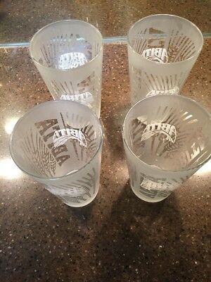 Abita Beer Pint Glasses Set Of Four Louisiana Abita Springs frosted