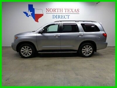 2012 Toyota Sequoia Limited Sunroof Heated Leather GPS Navigation Aux 2012 Limited Sunroof Heated Leather GPS Navigation Aux  Used 5.7L V8 32V SUV