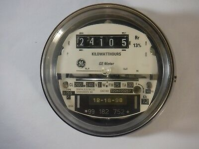GE Watthour meter (kWh) Type I-70-S, CL 200, FM 2S, 240V, 200A (720X070257)