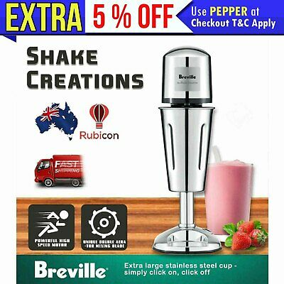 Milkshake Maker Machine Stainless Steel Cup Thickshake Milk Shake Frother Airer