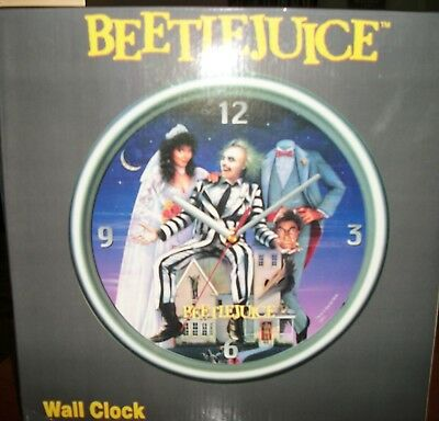 Beetlejuice Wall Clock Mint in Box