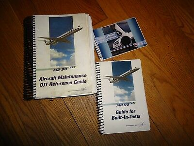 Md 90 Aircraft Maintenance Reference Guides