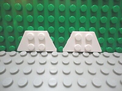 x1 @@ WHITE @@ BLANC LEGO 2413 @@ Wedge Plate 4 x 9