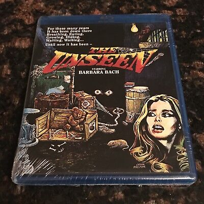 The Unseen Blu-ray NEW SEALED Scorpion Releasing Code Red Barbara Bach