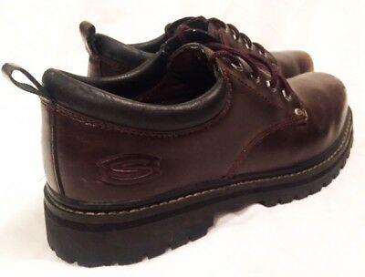 Skechers Oxford Shoes Mens Size 9.5 7111 Skechers Alley Cats Shoes Leather