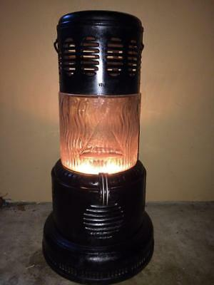 Working 1710 Perfection Glass Oil Kerosene Parlor Cabin Lantern Camping Heater
