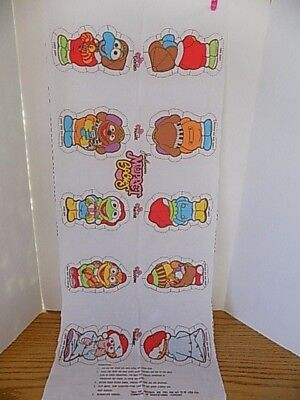 Vintage Jim Henson's Muppet Babies Christmas Sewing Panel New