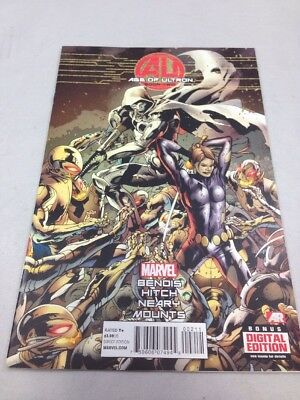 Age of Ultron Issue #2 Marvel Comics May 2013 Bryan Hitch Cover Avengers NM