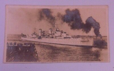 Hmas Hobart Post Card  Royal Australian Navy