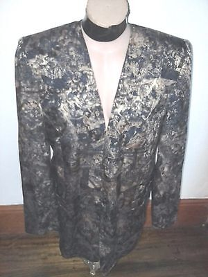 VINTAGE Liz Davenport Baroque quirky career gothic BLAZER jacket 16-18 Aus made
