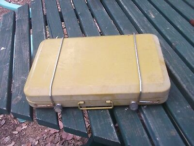 lpg gas propane stove sporting good camping hiking outdoor cooking equipment old