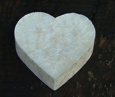 100hr WHITE VIOLETS Scent Love Heart CANDLE MELT for Oil Burner CHRISTENING GIFT