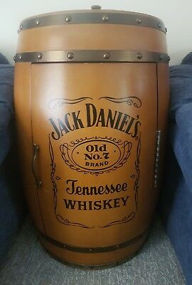 Jack Daniels Collectors Barrel Bar Fridge