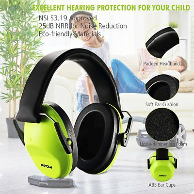 MPOW Baby Kids Earmuffs Hearing Protection Toddler Noise Reducing Child Ear Muff