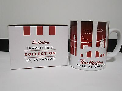 TIM HORTONS 'VILLE DE QUEBEC / QUEBEC CITY' Traveller's Collection Mug NIB