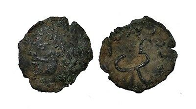 (9467) Early Chach AE coin, ruler Vanvan.