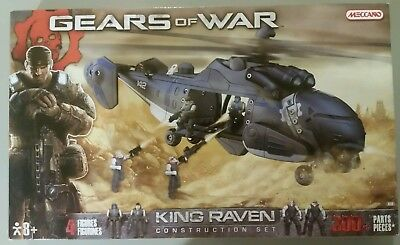Meccano Gears of War KING RAVEN Constitution Set. 300 + parts & Pieces 8450