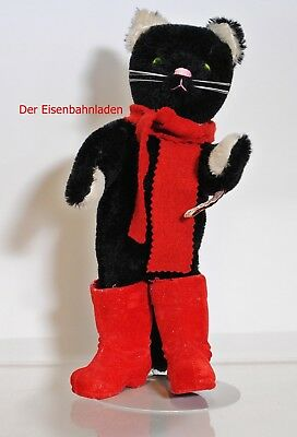 Grisly schwarzer, gestiefelter Kater Mohair Collection siehe Foto -iKBe11.10.