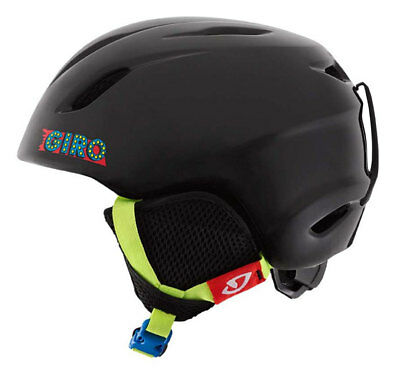 Kids Snowboard / Snow Ski Helmet Giro Launch Black size 52-55cm *New*