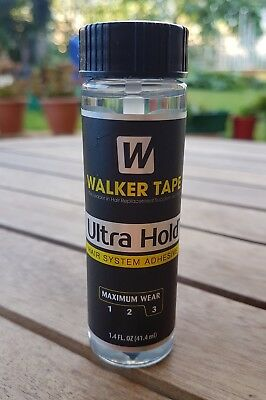 Walker Tape Ultra Hold 1.4oz Hair Glue Adhesive - Wig, Toupee, Hairpiece