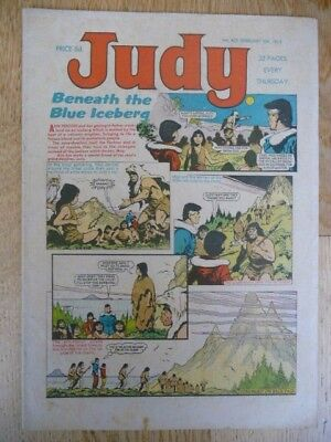 Very Collectable 'Judy' Vintage Comic For Girls No. 422 February 10th, 1968