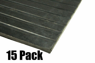 """(15) Erie Tools 4x6 Rubber Anti-Fatigue Floor Mat 48"""" x 72"""" for Stables Gyms"""
