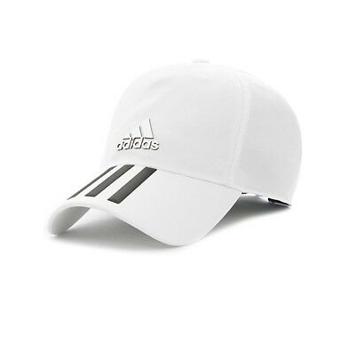 251605943fe Adidas Hat Training C40 3-Stripes Climalite Cap Fashion Logo White CG1782  New