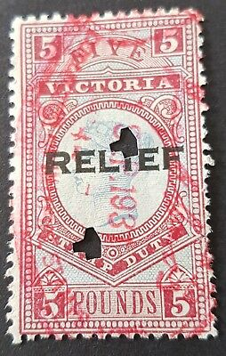 £5 Victoria stamp duty RELIEF