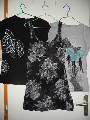 Lot 3 Tshirts 36 / 38 TBE