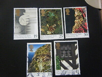 1995 - The National Trust - used set