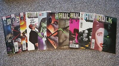 HULK Vol.4 #4,5,6,7,8,9 + 11 (2017) + SHE-HULK #159,160 (2017) MARVEL LEGACY
