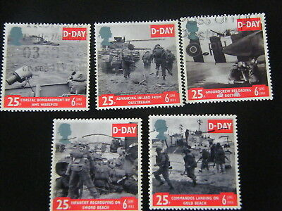 1994 - 50th Ann of D-Day - used set