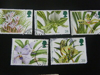 1993 - Orchids - good used set