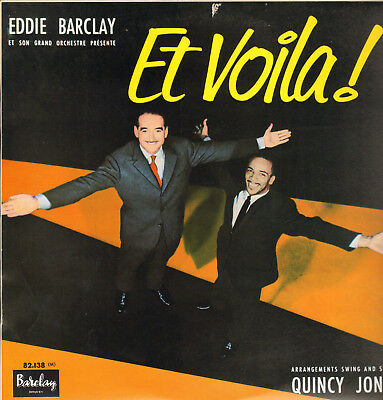 Eddie Barclay-Lp- Et Voila!- Q.jones- Grappelly-Byas-L.thompson-Rare Fresh Sound