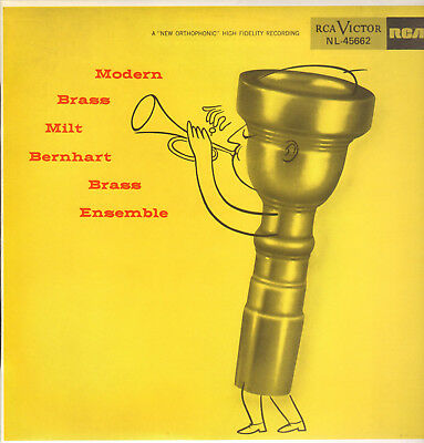 Milt Bernhart Brass Ensemble-Lp-Modern Brass- Fresh Sound Records-Unplayed