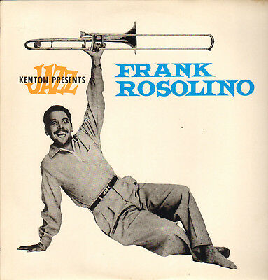 Frank Rosolino Sextet-Lp- Curtis Counce-Max Bennett- Affinity-Uk- 1981-Unplayed