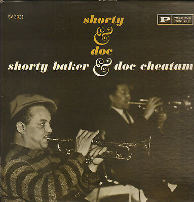 Shorty Baker&doc Cheatam-Lp- Shorty&doc-W.bishop-Org. Prestige-Swingville-1961