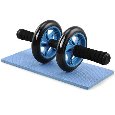Yahee Roues/Roller Entrainement Abdominaux Musculation avec Tapis Repose Genoux