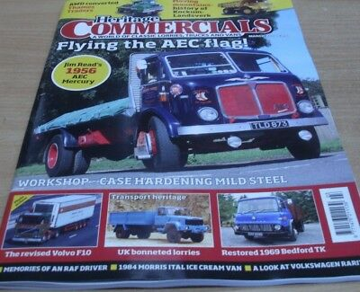Heritage Commercials magazine MAR 2018 AWD, Kockum-Landsverk, AEC Mercury & more