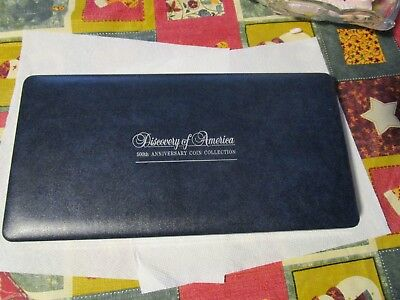 Discovery Of America 500Th Anniversary $25 Coin Collecttion Display Case~No Coin