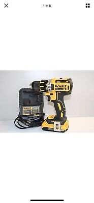 DeWalt DCD790 Battery and Charger 20vMAX XR Brushless Drill Lightly Used