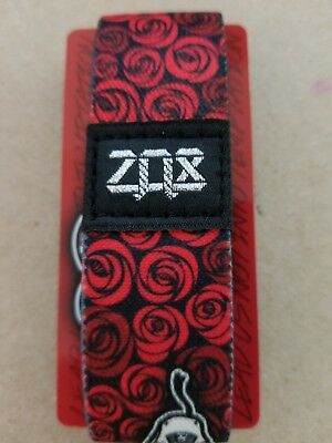 Zox TEMPTATION Wristband by CXXII APPAREL! Silver! Card Included!