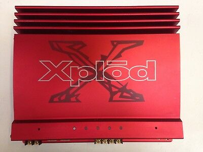 Sony XM-7527 300 Watts 2 Channel Car Amp Amplifier Bridgeable