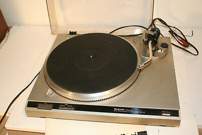 platine vinyle Techniscs SL-Q2 Pour pieces For parts TURNING turntable MOTOR ok