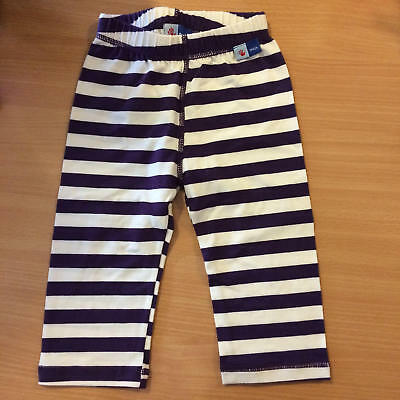 MOLO KIDS Purple Striped Baby Girls Pants Trousers Leggings 74 6-9m - BNWOT NEW